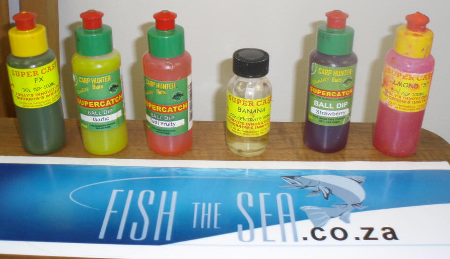 South African Summer Carp Baits, Dips & Feed, Catching ...