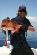 Snapper caught on Halco Roosta Popper Haymaker 195
