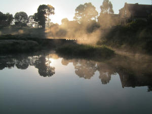 Early morning Fly Fishing Mist