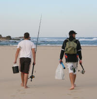 Stephan Fuchsloch & Gareth Roocroft going fishing