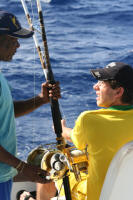 Targeting offshore fish with multiplier