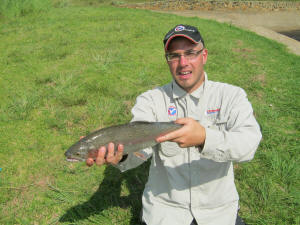 Rainbow Trout Lake Millstream Dullstroom South Africa