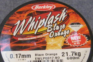 Berkley Whiplash Hi Viz Orange