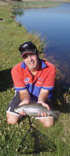 2kg Rainbow Trout caught in Dullstroom