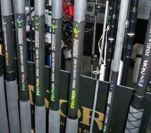 Fin Nor HMG Surf Rods Tackle Reviews