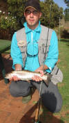 1kg Rainbow Trout Caught By Gareth Roocroft
